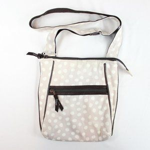 3/$30 31 Polka Dot Crossbody Purse Handbag Brown